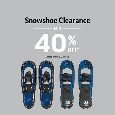 Select Snowshoe Clearance Min 40% Off*