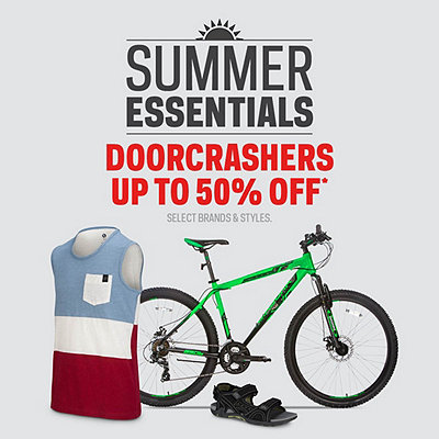 Summer Doorcrashers Deals up to 50% Off*