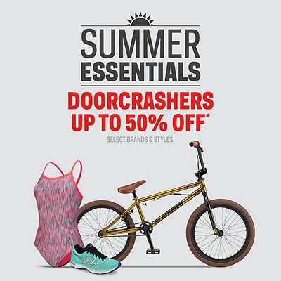 Summer Essentials Deals up to 50% Off*