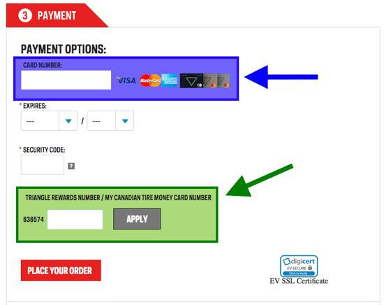 dda37d6c5 Can Triangle Rewards™ Members redeem electronic Canadian Tire Money® on  online purchases at SportChek.ca