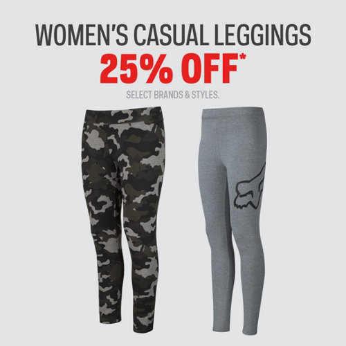 Women's Casual Leggings 25% Off* Select Brands & Styles