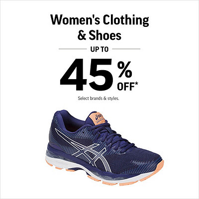 3defae6c00 Women s Shoes   Clothing Up to 45% Off