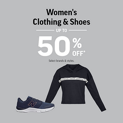 Women's Shoes & Clothing Deals up to 50% Off*