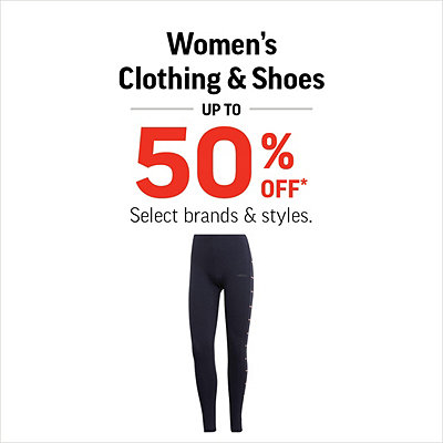 Women's Shoes & Clothing up to 50% Off*