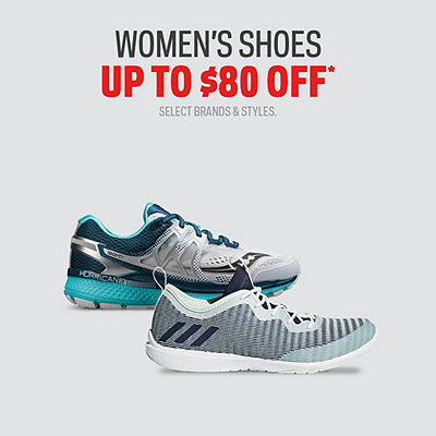 Select Women's Shoes up to $80 Off*