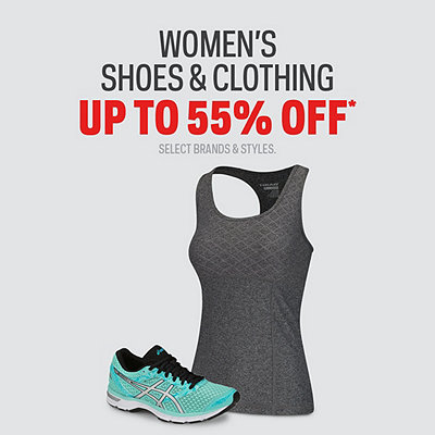 Select Women's Shoes & Clothing up to 55% Off*