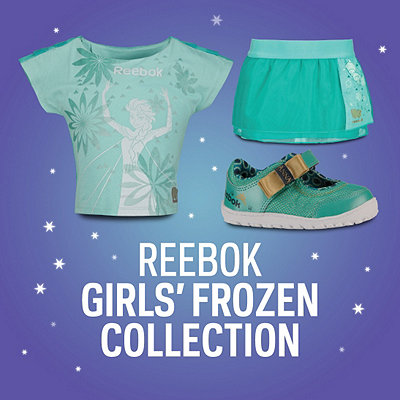 Reebok Girls' Frozen Collection