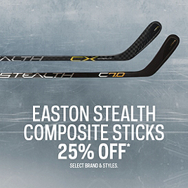 Easton Stealth Composite Sticks 25% Off*