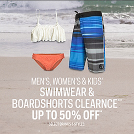 Swimwear & Boardshorts Clearance up to 50% Off