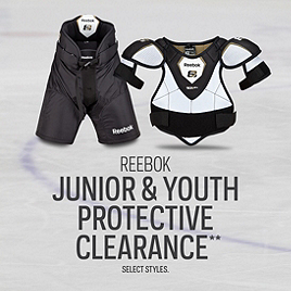 Reebok Junior and Youth Protective Clearance*