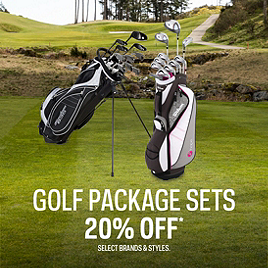 Men's, Women's Golf Package Sets 20% Off*