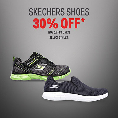 Select Skechers Shoes 30% Off*