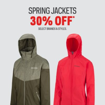 Spring Jackets 30% Off