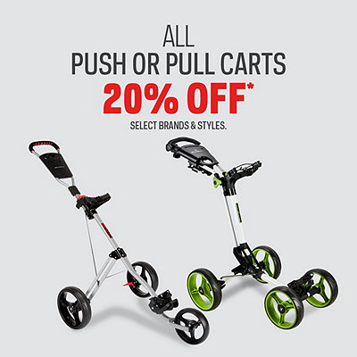 Push or Pull Cart Deals