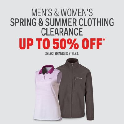 Men's & Women's spring & Summer Clothing Clearence Up To 50%