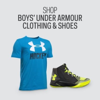 Boys' Under Armour Clothing & Shoes
