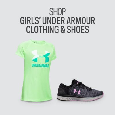 Girls' Under Armour Clothing & Shoes