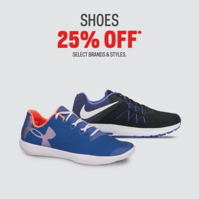 Select Shoes 25%