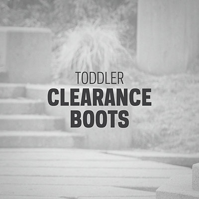 Toddler Clearance Boots