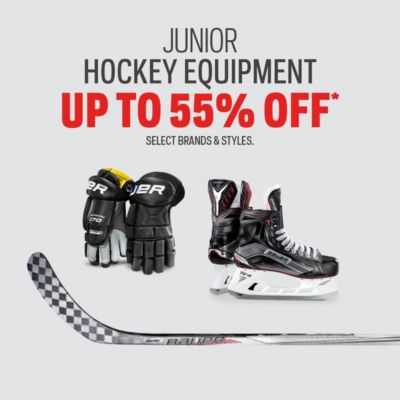 Junior Hockey Protective Deals Up to 55% Off