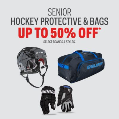 Senior Hockey Protective & Bag Deals Up to 50% Off