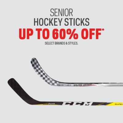 Senior Hockey Stick Deals Up to 60% Off