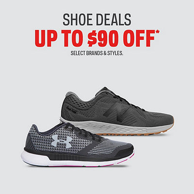 Shoe Deals up to $90 Off*