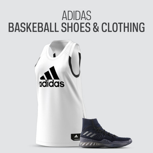 adidas Basketball Shoes & Clothing