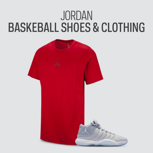 Jordan Basketball Shoes & Clothing