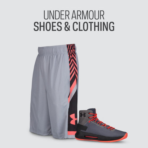 Under Armour Basketball Shoes & Clothing