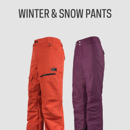 Winter & Snow Pants