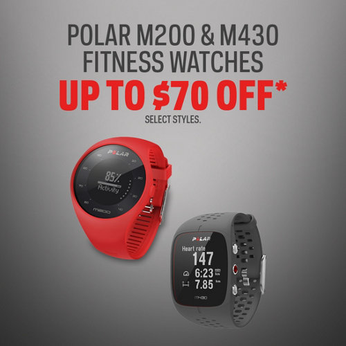 POLAR M200 & M430 FITNESS WATCHES up to 70% Off
