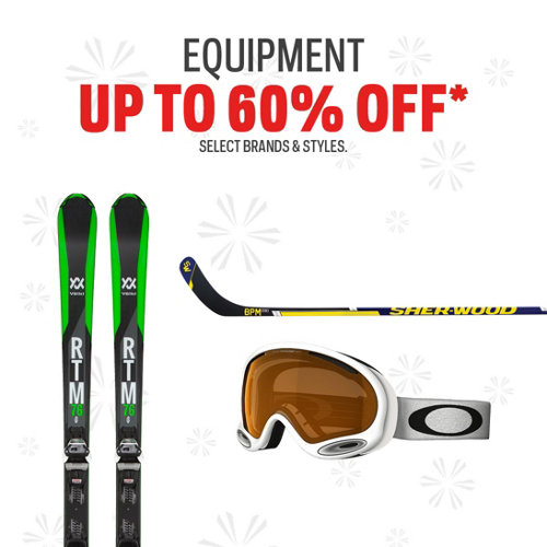 Equipment Deals up to 60% Off