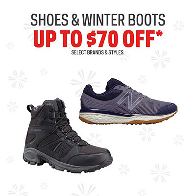 Shoe & Winter Boot Deals up to $70 Off*