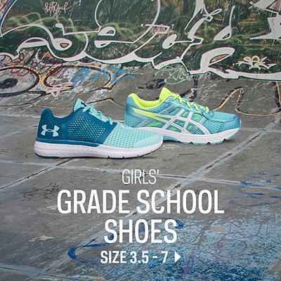 Grade School Shoes Size 3-7