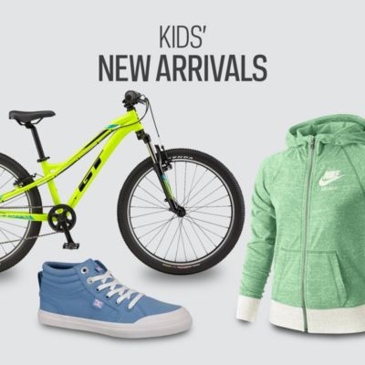 Kids' Clothing, Shoe & Equipment New Arrivals for Sale Online