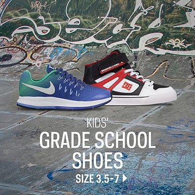 Kids' Grade School Footwear Size 3.5-7