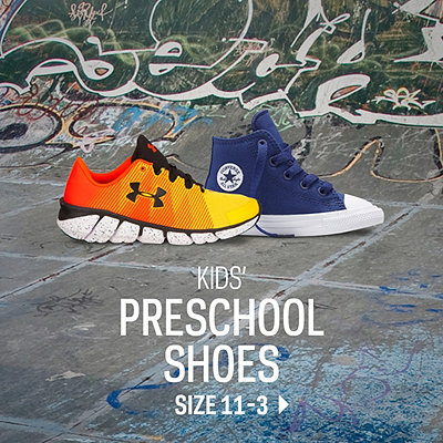 Kids' Preschool Footwear Size 11-3