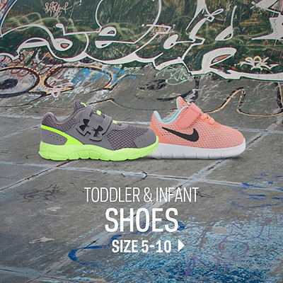 Toddler & Infant Footwear Size 5-10c