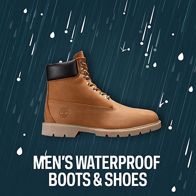 Men's Waterproof Shoes & Boots