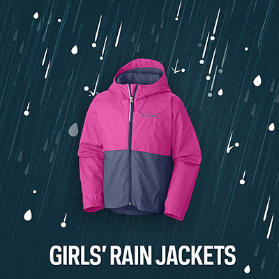Girls' Rain Jackets