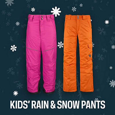 Girls' Winter Pants