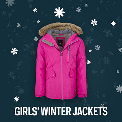 Girls' Winter Jackets