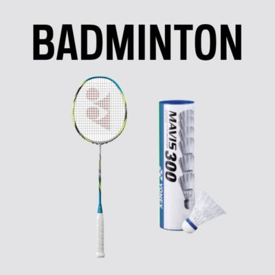 Badminton Racquets and Gear for Sale Online