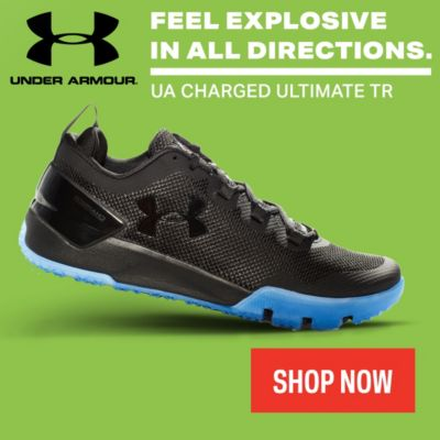Under Armour Charged Ultimate TR Training Shoe Collection for Sale Online