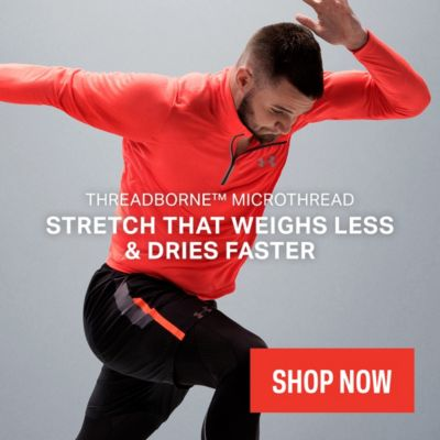 Under Armour Threadborne MicroThread Training Clothes for Sale Online