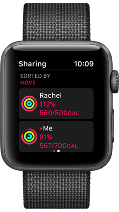 Apple Watch Activity Sharing Product Image