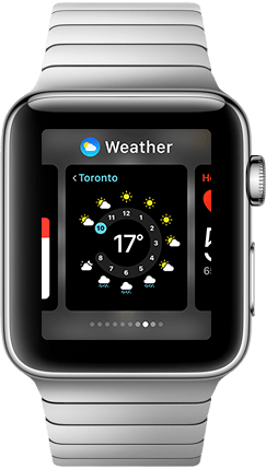 Apple Watch App Dock Product Image