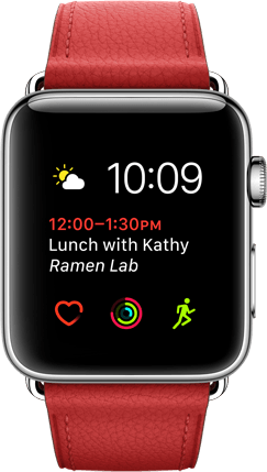 Apple Watch Customizable Watch Faces Product Image