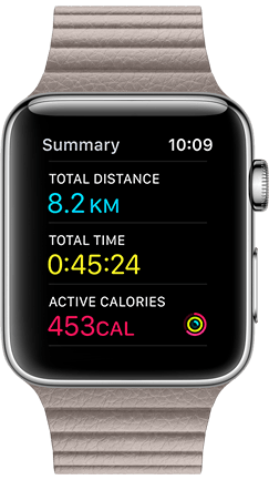 Apple Watch Health App on iPhone Product Image